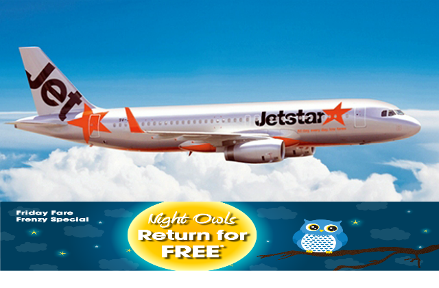 Jetstar Return for Free Featured