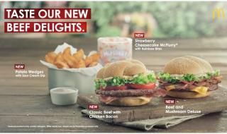 McDonalds Beef Delights Featured
