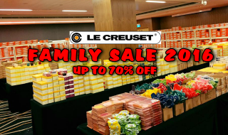 Le Creuset Family Sale 2016