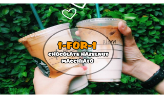 Starbucks Featured Choc Hazelnut Macchiato