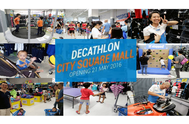 Decathlon To Open Second Store At City Square Mall On 21 May Moneydigest Sg