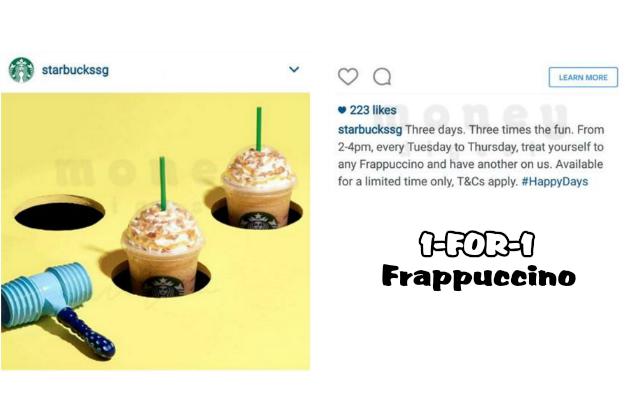 Starbucks 1 1 Frappuccino Featured