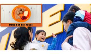 IKEA FAMILY KIDS EAT FREE