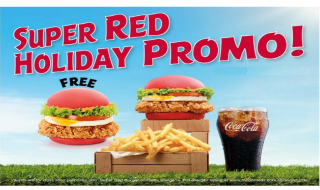 Super Red Burger FREE