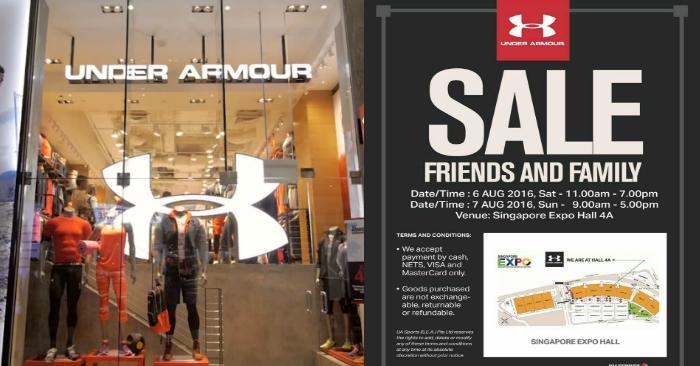 Under Armour Expo Sale