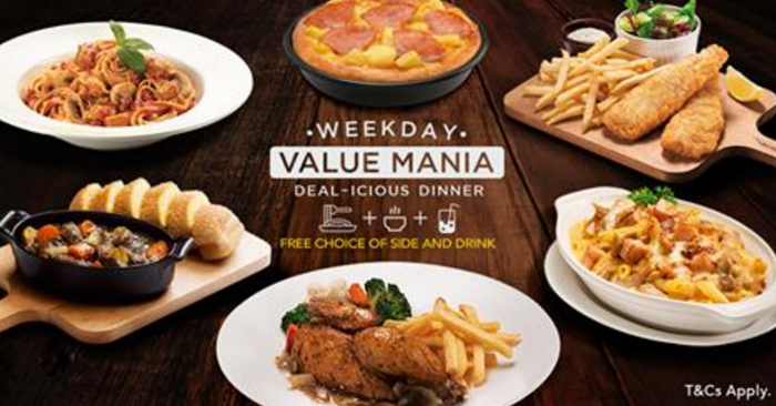 Pizza Hut Now Offers Free Side Drink With Every Order Of Pizza Pasta And Entrees After 6pm On Weekdays Meal Starts From As Affordable As 9 50 From 2 Feb 17 Moneydigest Sg