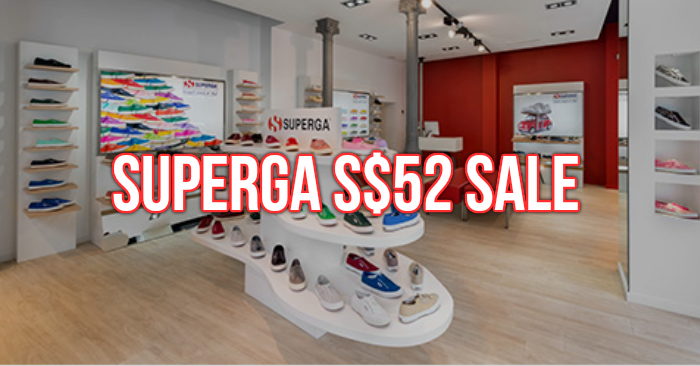Superga sneakers are selling at S$52