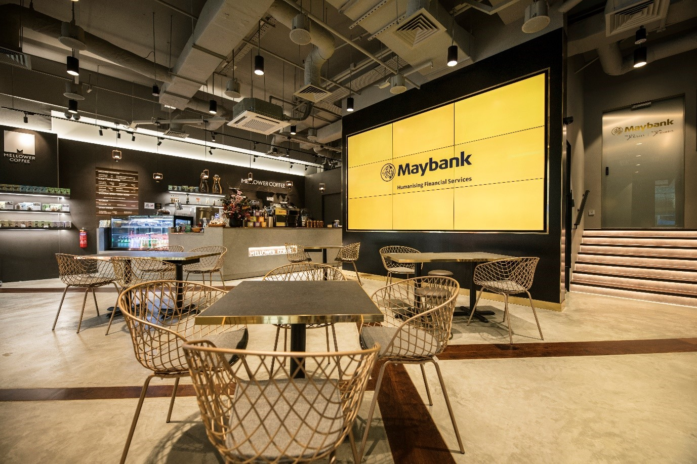 Maybank Launches a New Concept Branch