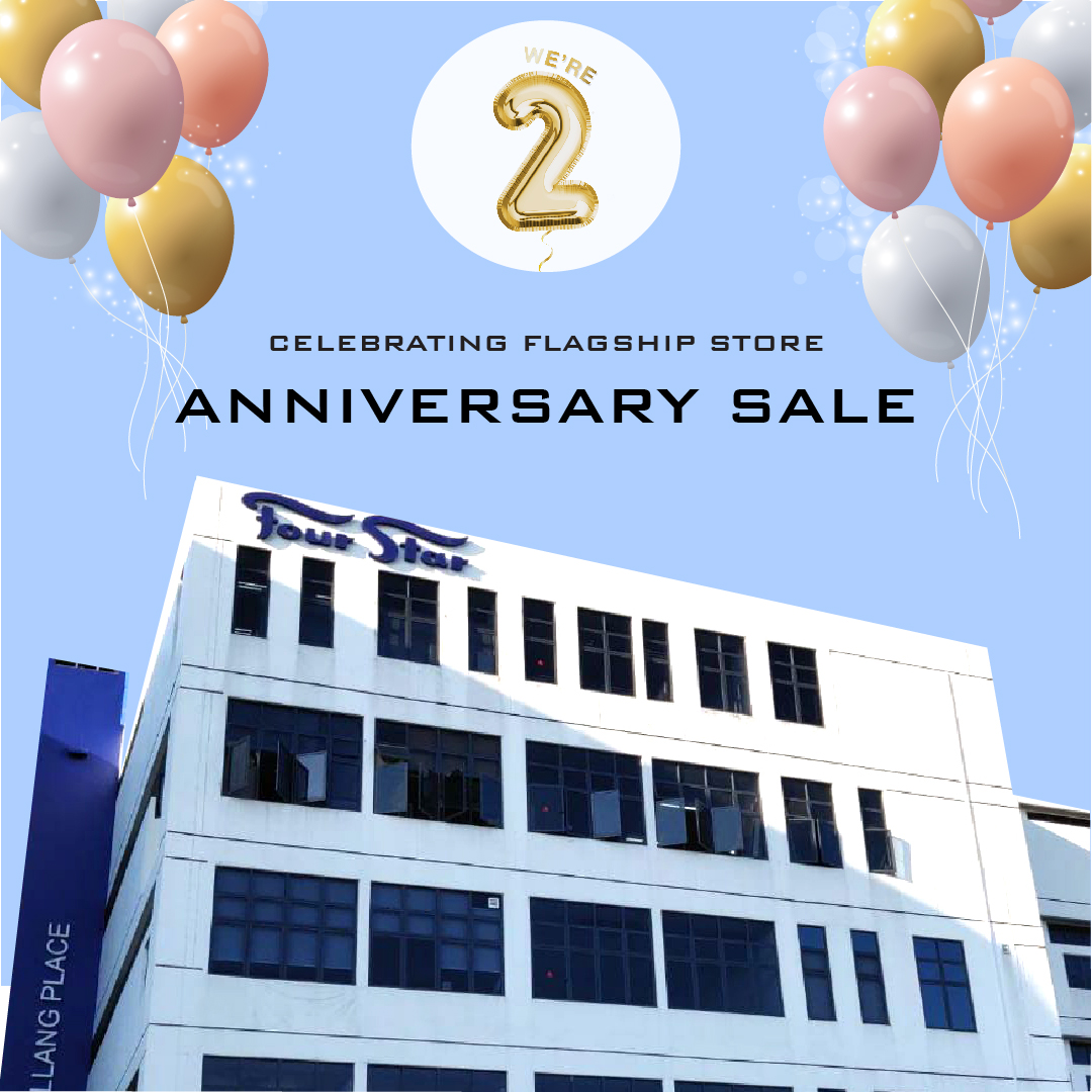 Four Star Mattress Flagship Gallery is celebrating its 2nd Anniversary with its largest sale this year!