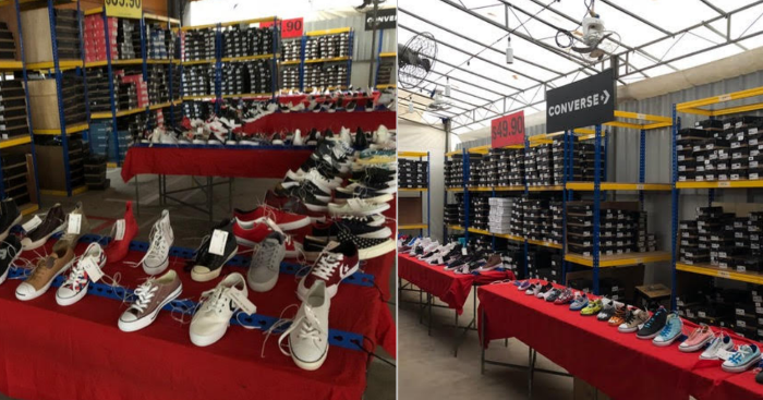the warehouse shoe sale