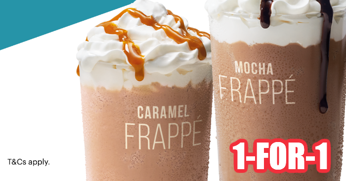 Mcdonald S Offering 1 For 1 Mocha Caramel Frappe From 21 To 23 Feb 20 Moneydigest Sg