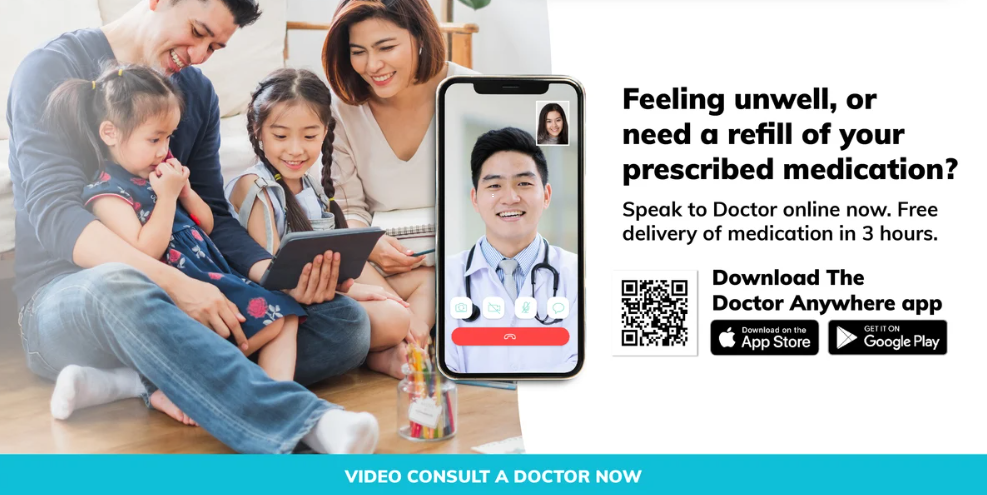 Doctor Anywhere Singapore