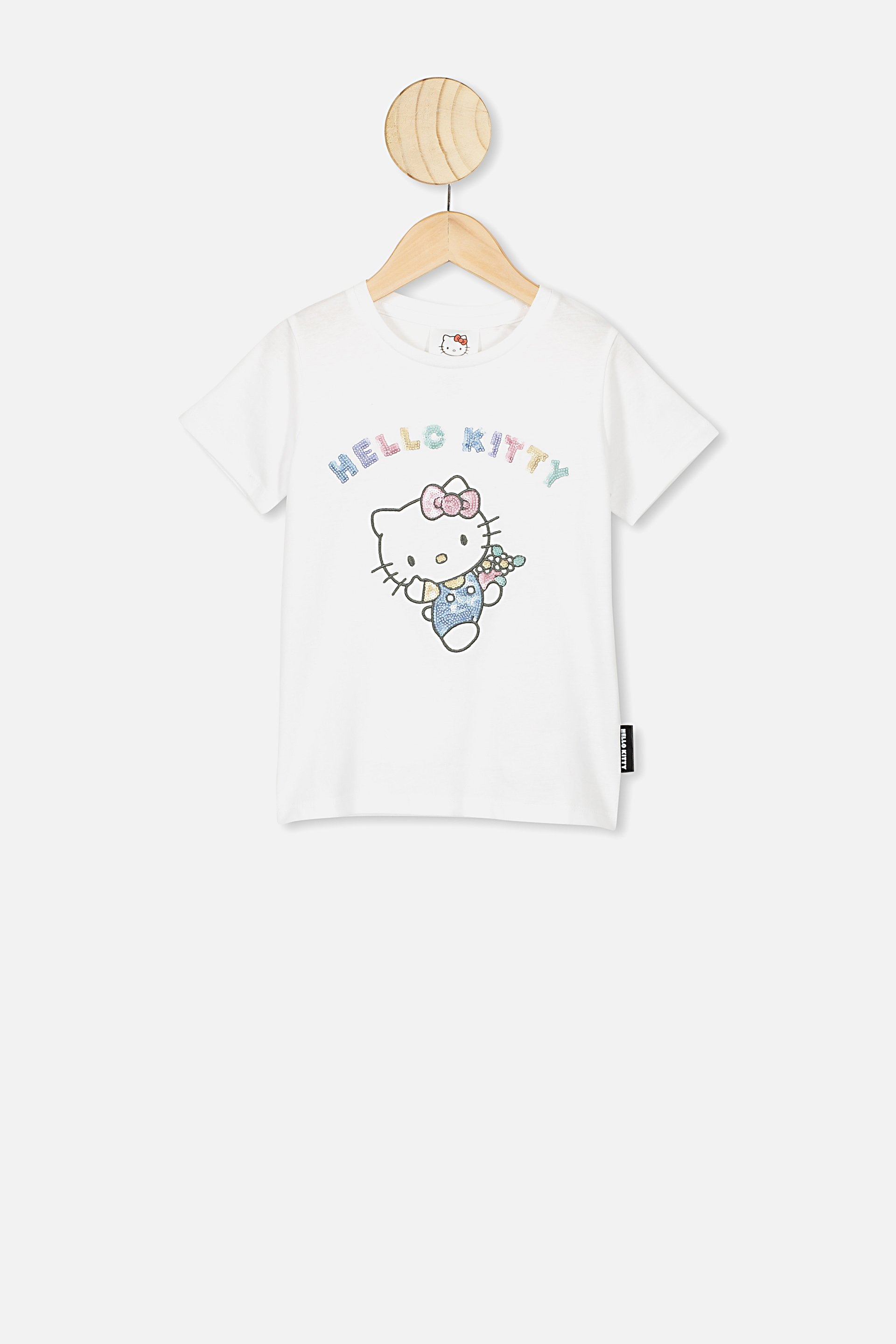Hello Kitty in sequins kids t-shirt
