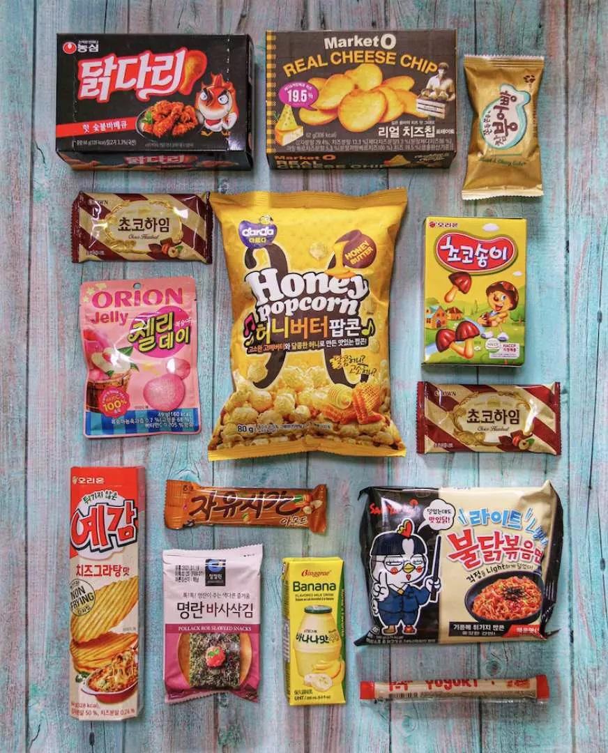 Korea Special Snack Box (1)