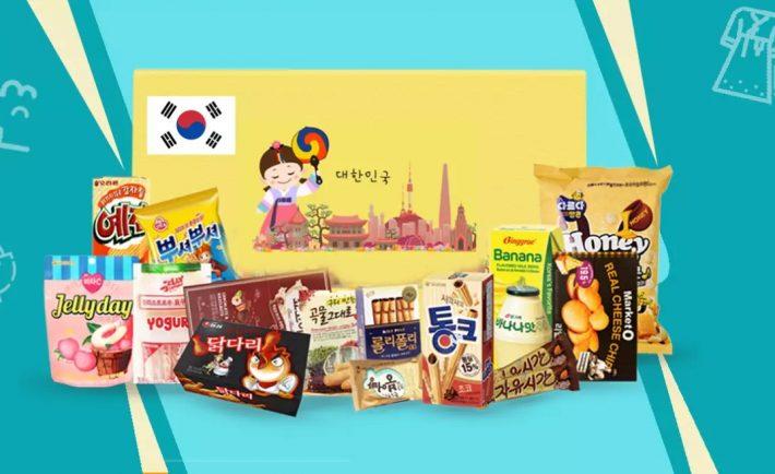 Korea Special Snack Box