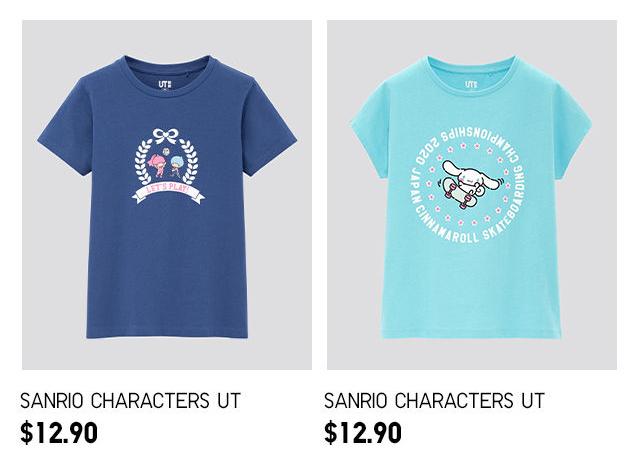 Sanrio Characters Kids T-Shirts