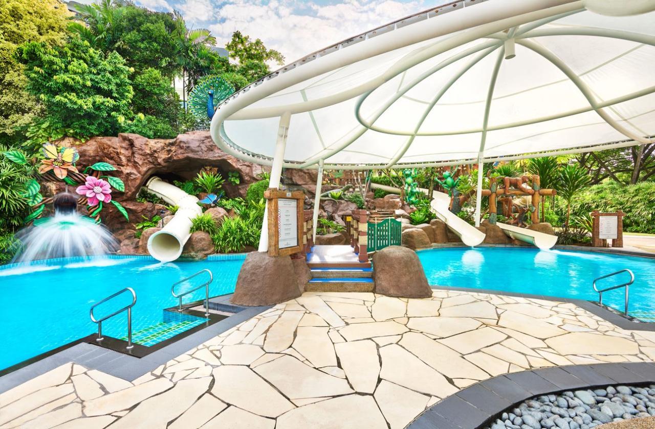 Shangri-La's Rasa Sentosa Resort & Spa Poolside