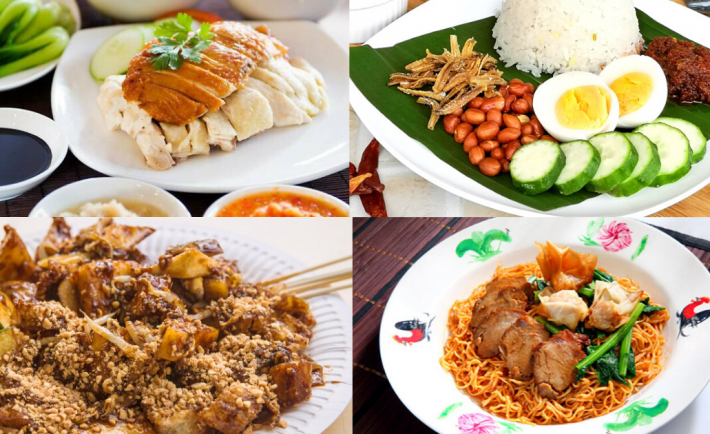 Singapore hawker foods