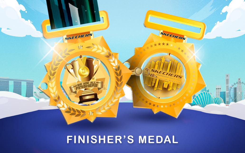 Skechers Friendship Walk 2020 medals