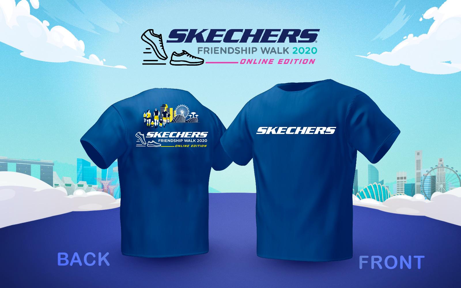 Skechers Friendship Walk 2020 t-shirts