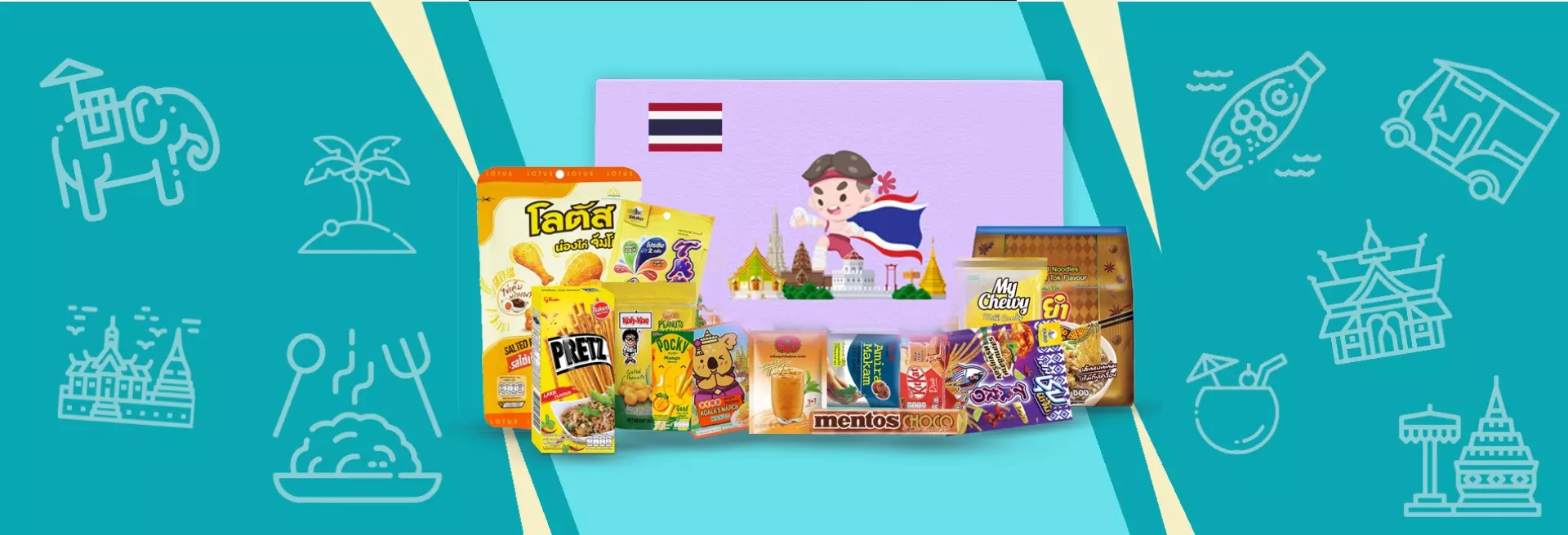Thailand Special Snack Box