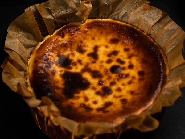 Paparch's Burnt Cheesecake