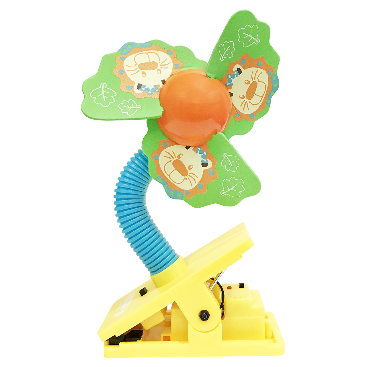 lucky-baby-mini-safety-clip-on-fan-w-ultrasonic-mosquito-repellent-lion