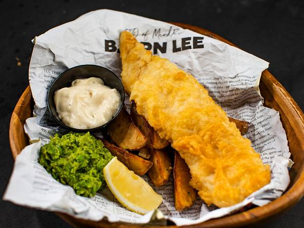 Signature Battered Fish & Chips