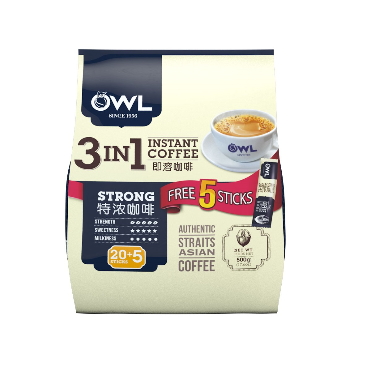 3in1 Coffee Strong 25sX20g