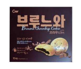 Brownie Choco Chip Cookie 165g