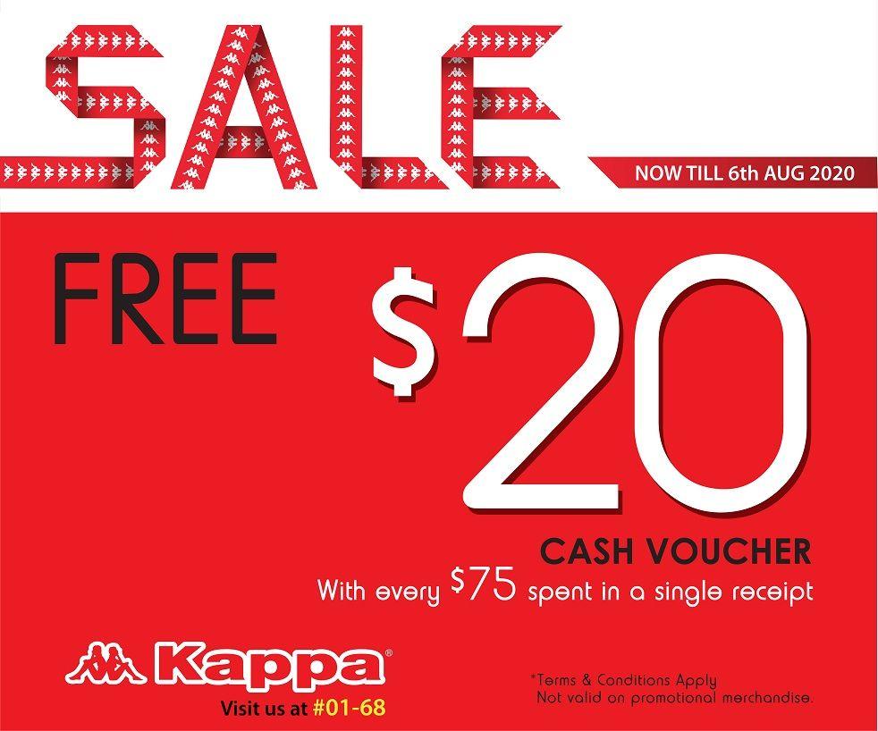 Cashback at Kappa Outlet