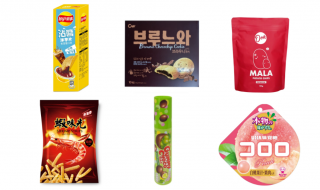 Cold Storage Asian snacks