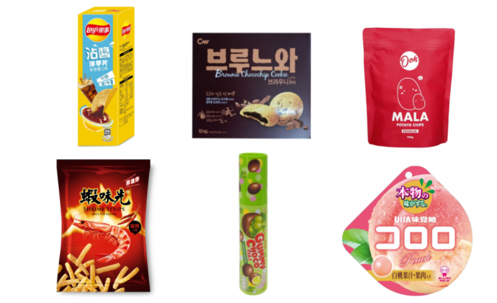Cold Storage Asian snacks