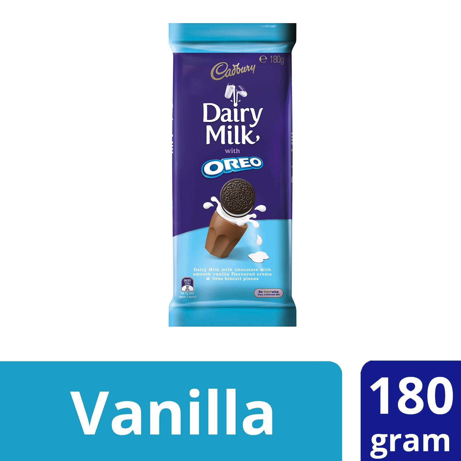 Dairy Milk Chocolate With Oreo