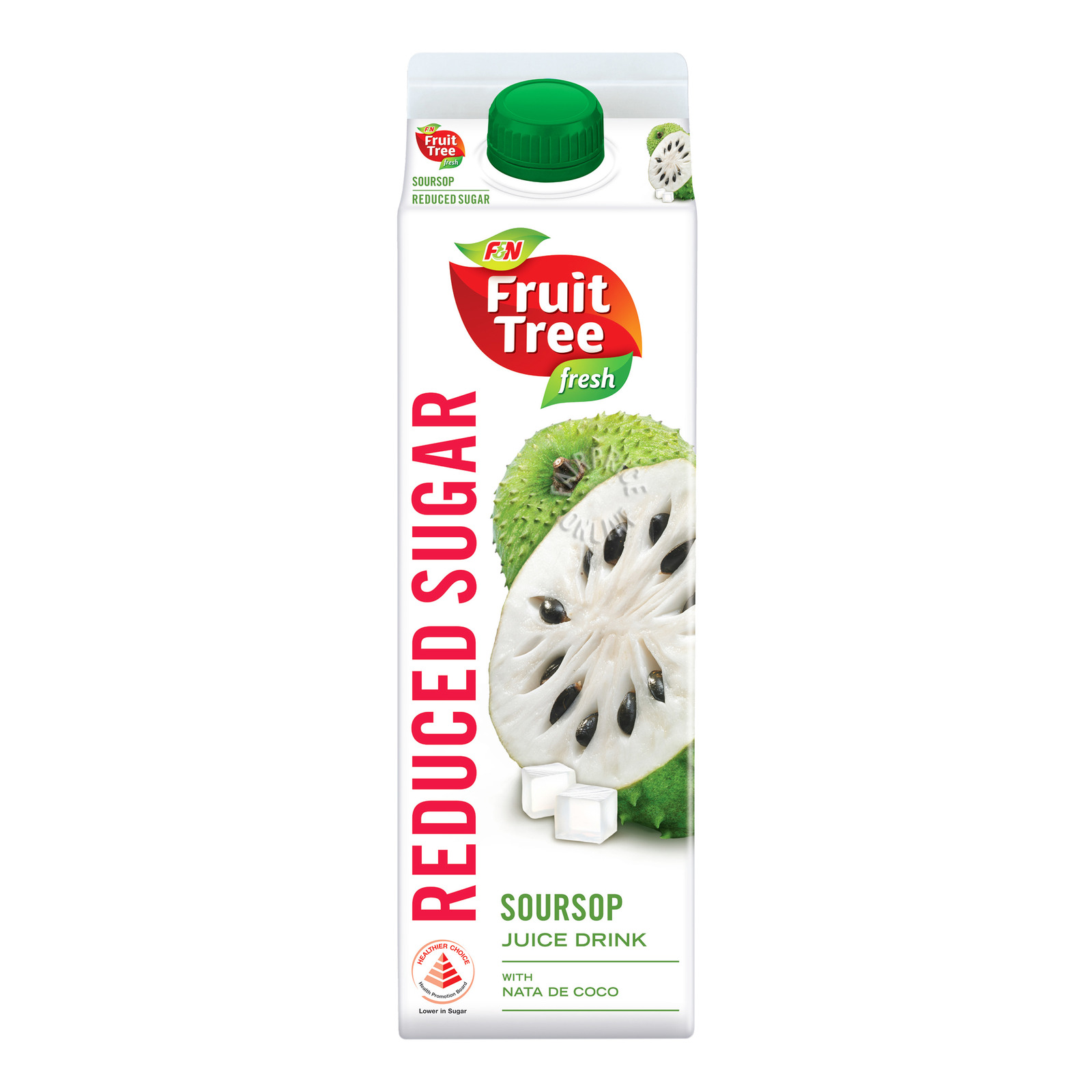 F&N Fruit Tree Fresh Juice - Soursop with Nata de Coco