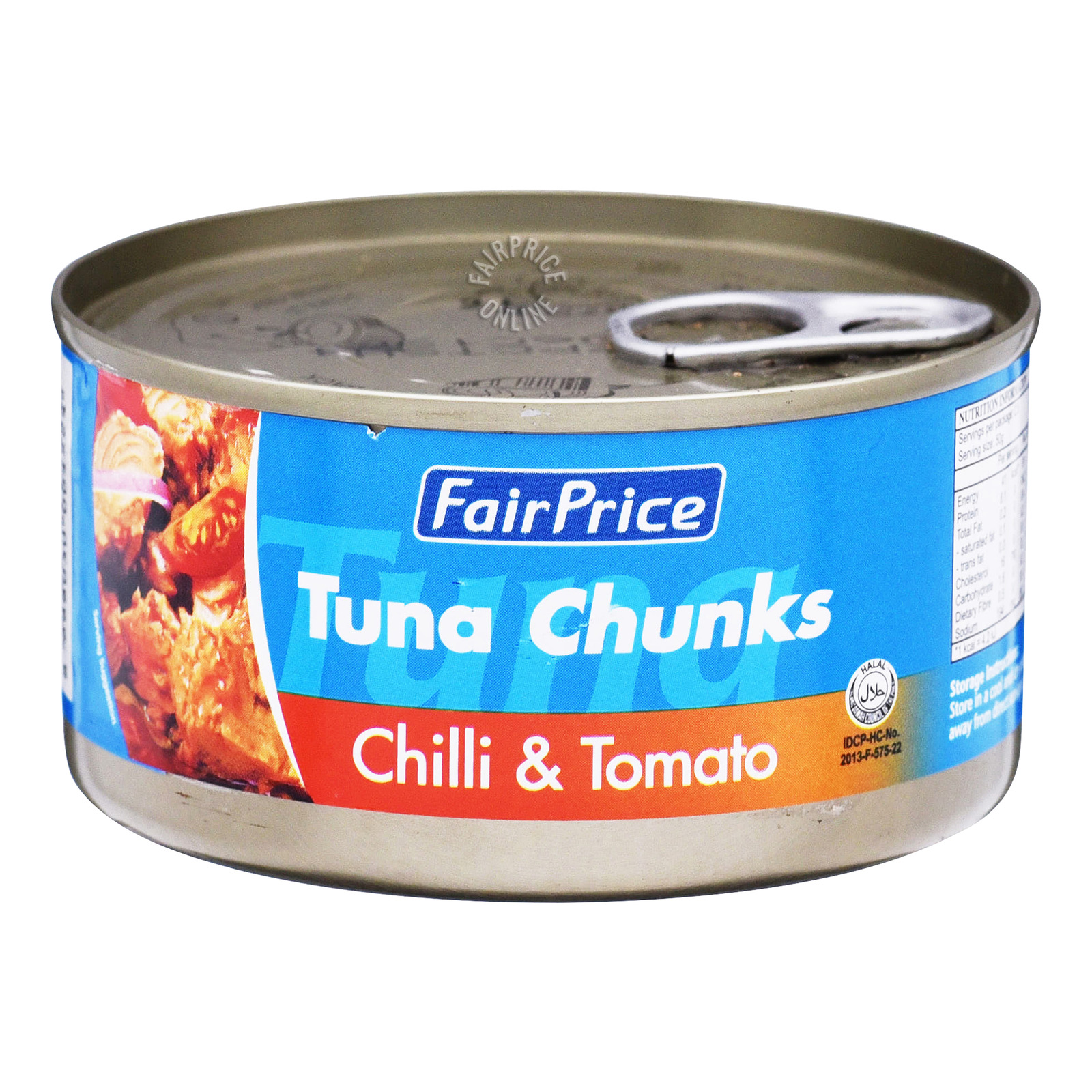 FairPrice Tuna Chunks - Chili and Tomato