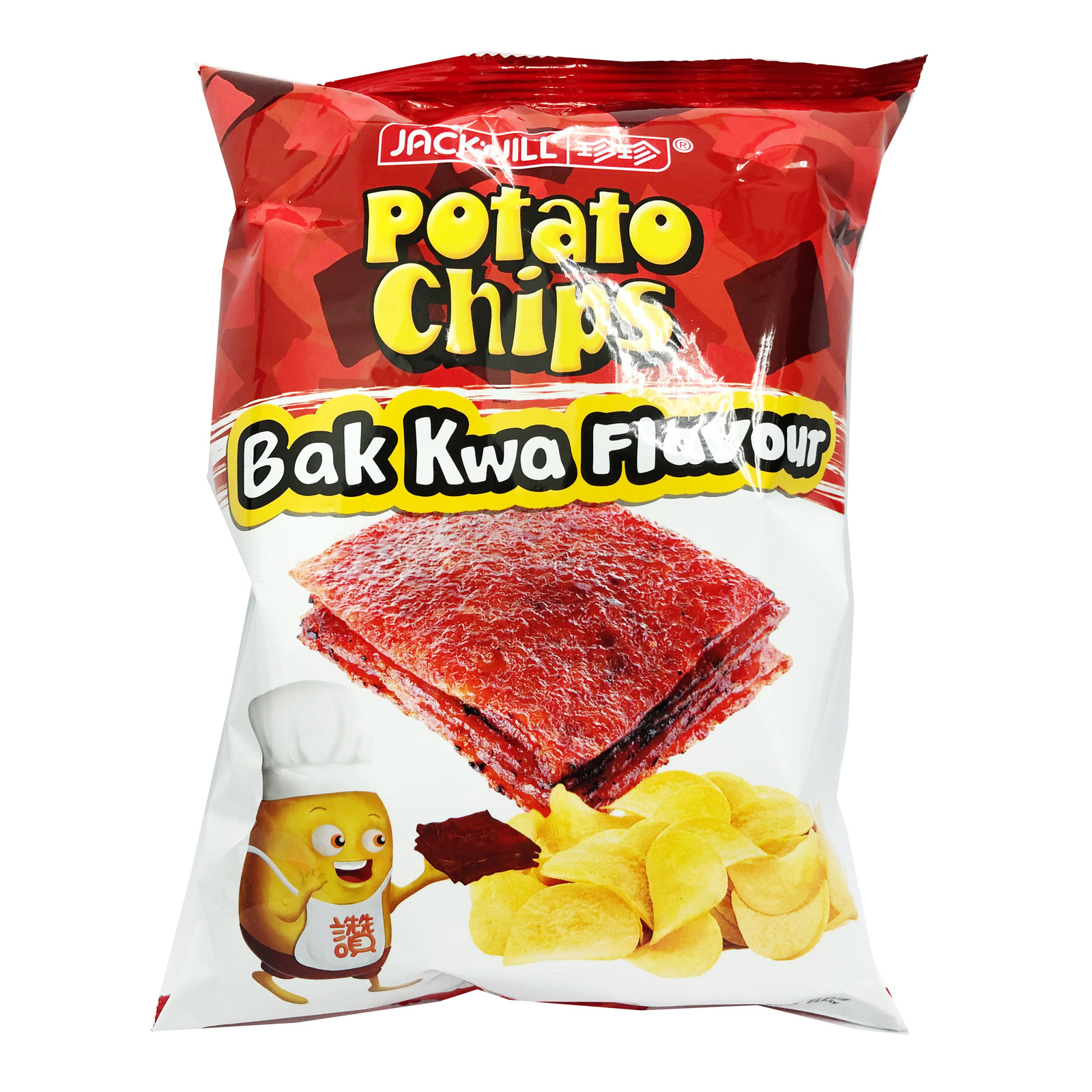 Jack 'n Jill Potato Chips - Bak Kwa