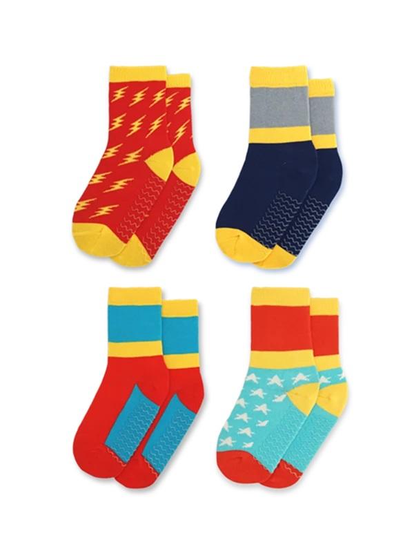 Justice Squad socks for children