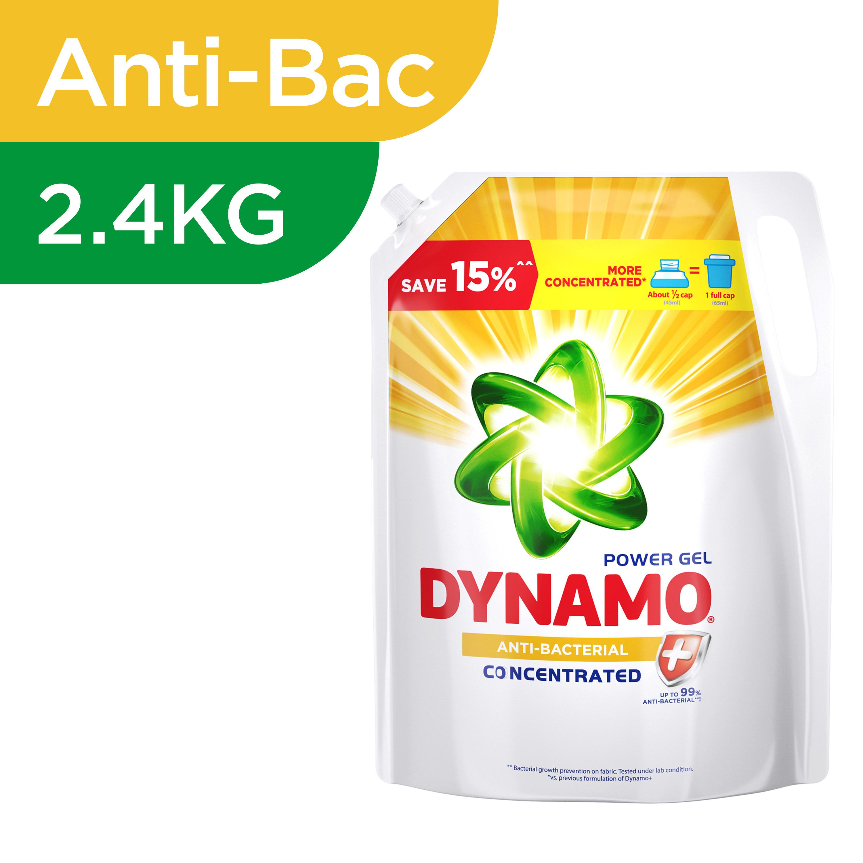 Laundry Liquid Refill - Anti Bacterial 2.4kg