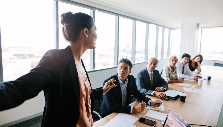 Minority gender in the boardroom