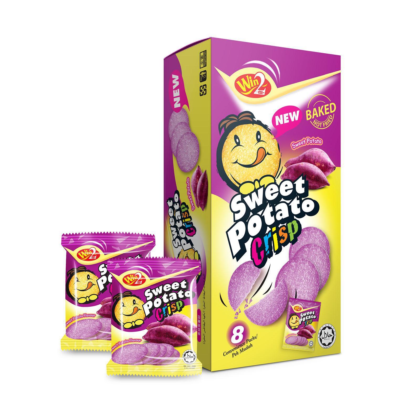 Potato Crackers Sweet Potato Flavour 8sX20g