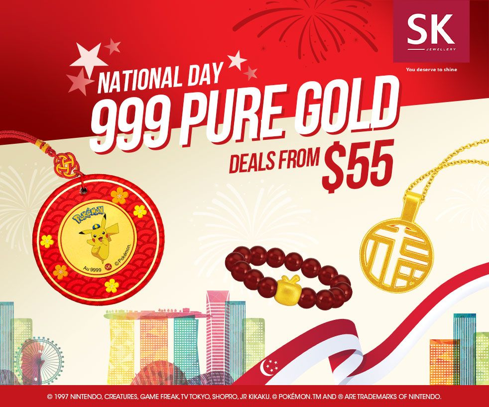 SK National Day 999 PURE GOLD Deals