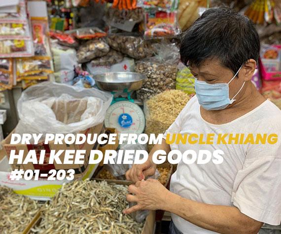 Tekka Stall Owner