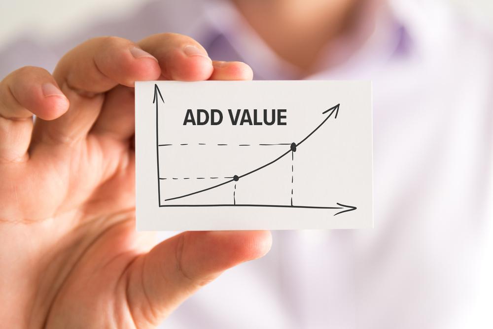 add more value