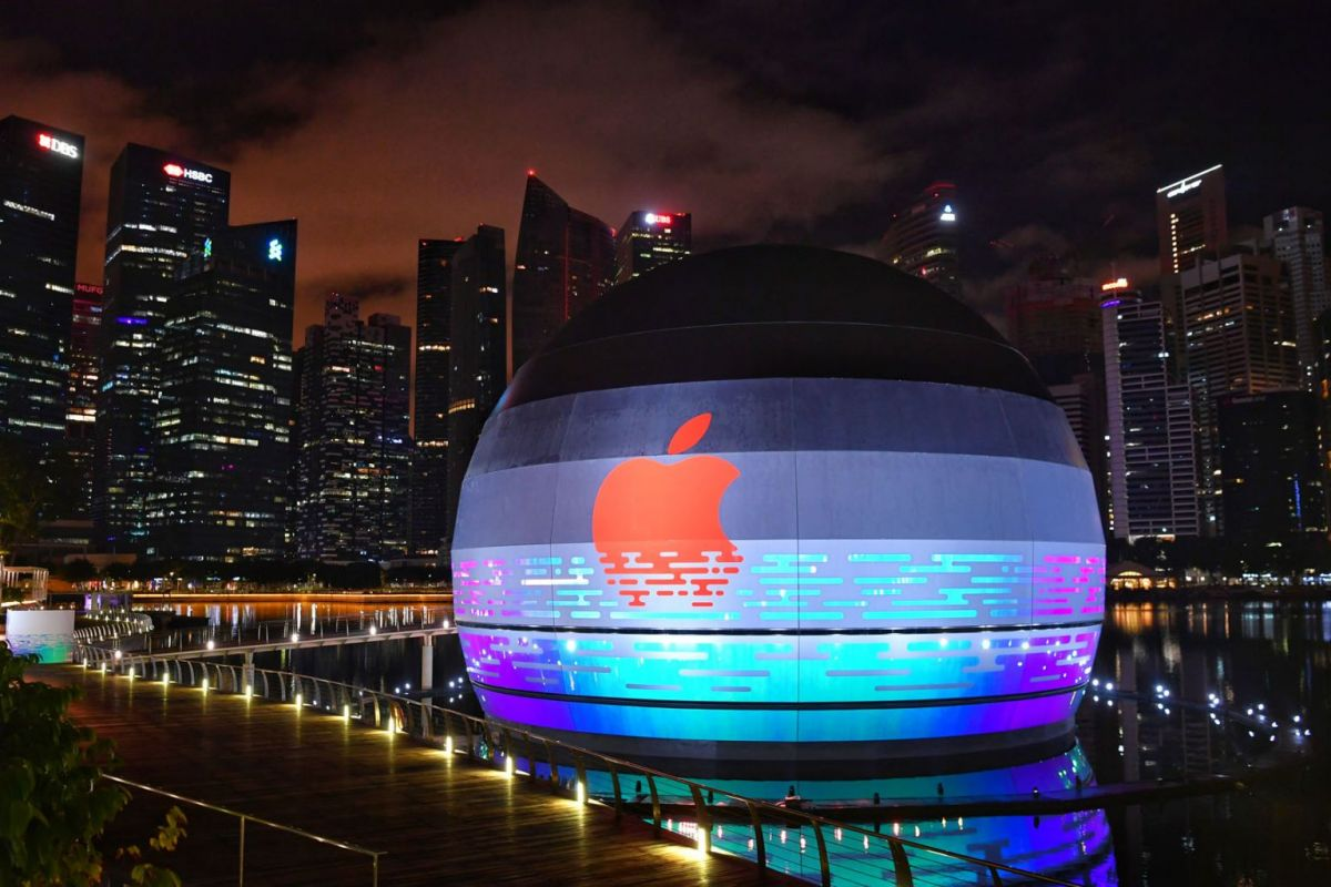 Apple store in Singapore