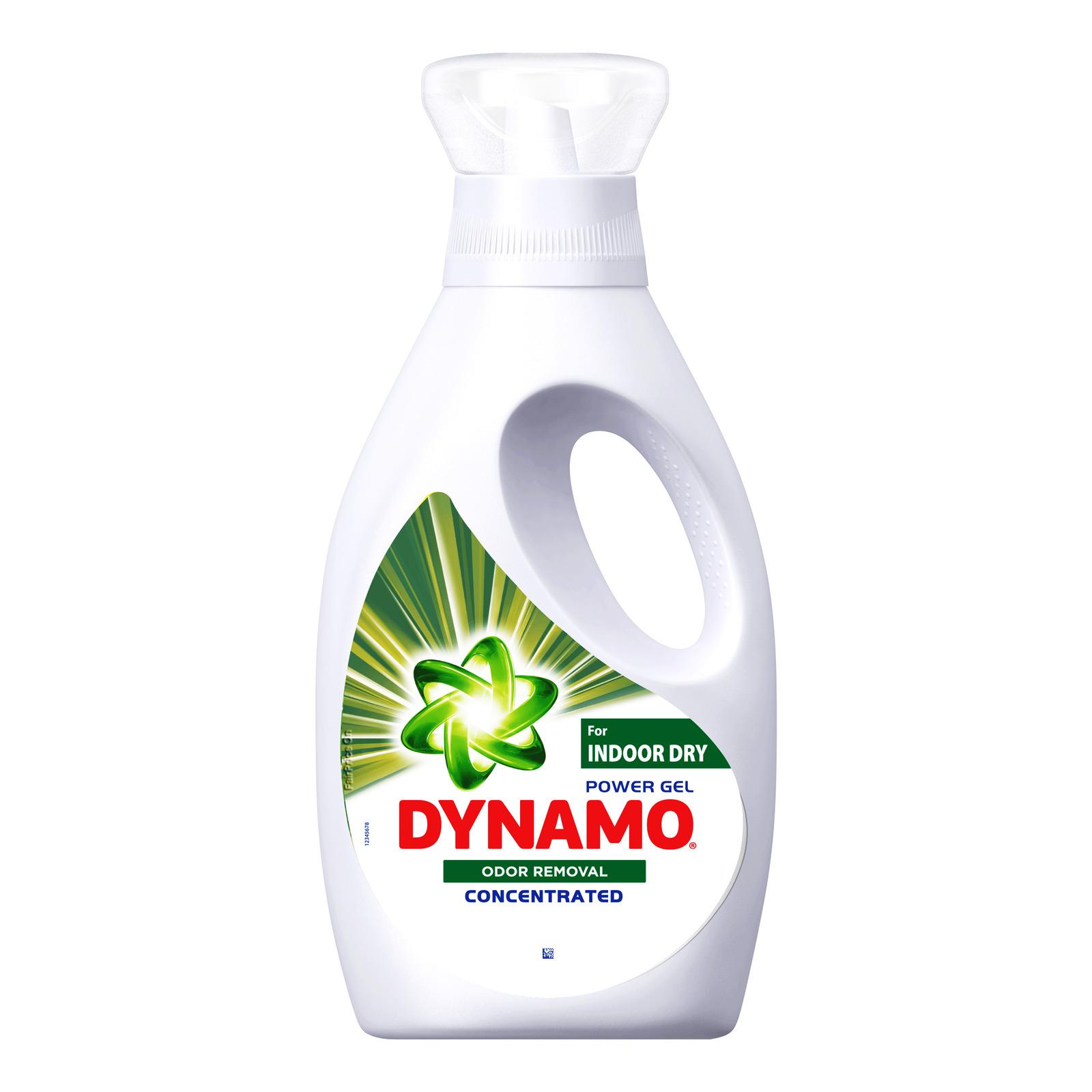 Dynamo Power Gel Laundry Detergent - Indoor Dry