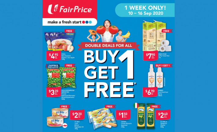 FairPrice Weekly Deals 10 September