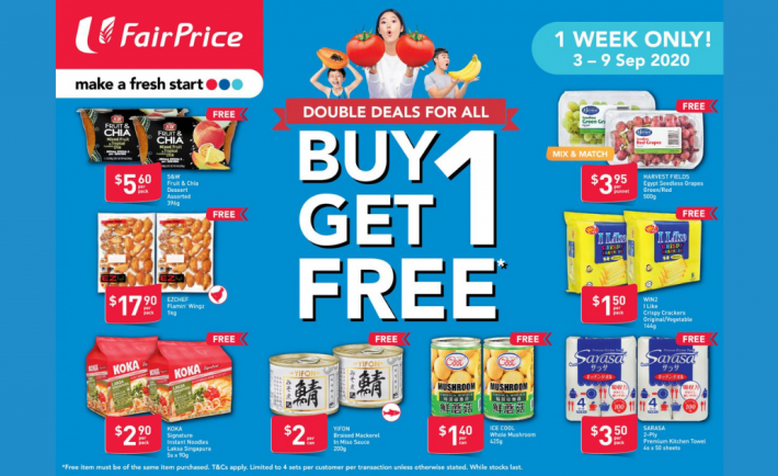 FairPrice Weekly Deals 3 September