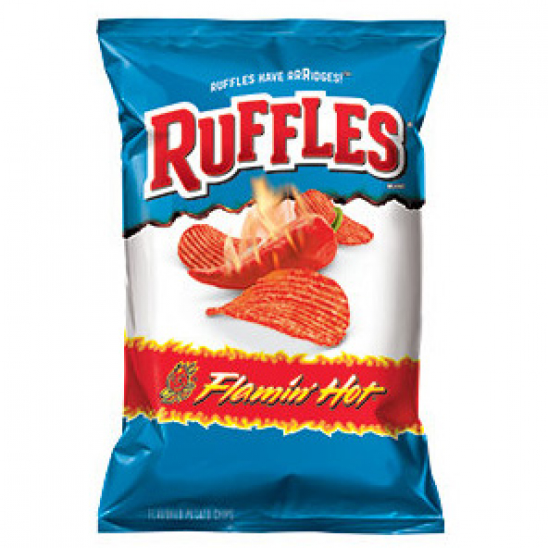 RUFFLES Flamin' Hot Chips