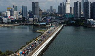 Singapore-Malaysia border